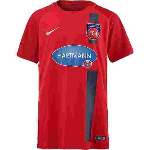 Nike 1. FC Heidenheim 17/18 Heim Fußballtrikot Kinder rot
