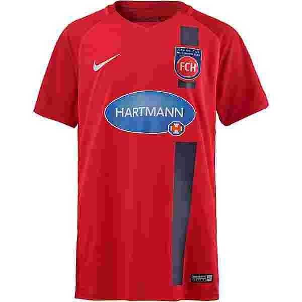 Nike 1. FC Heidenheim 17/18 Heim Trikot Kinder rot