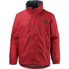 The North Face Resolve Regenjacke Herren cardinal red/asphalt grey