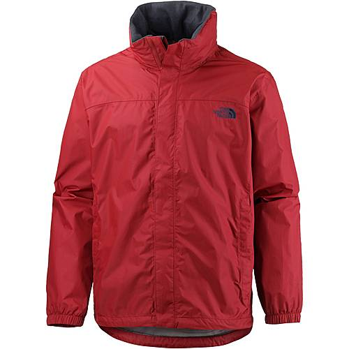 The North Face Resolve Regenjacke Herren cardinal red/asphalt grey