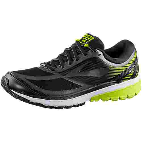 Brooks Ghost 10 GTX Laufschuhe Herren Black/Ebony/Lime Popsicle