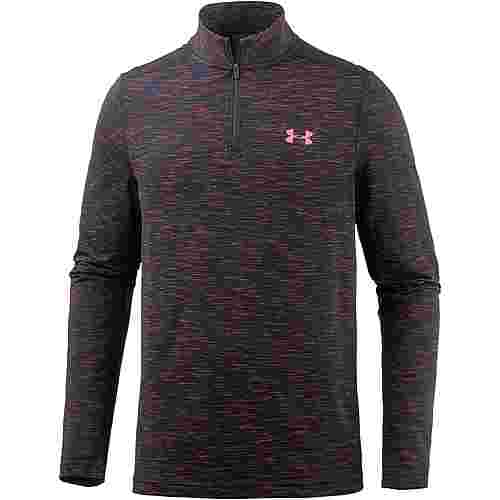 Under Armour HeatGear Threadborne Seamless Funktionsshirt Herren MARATHON RED /  / ANTHRACITE