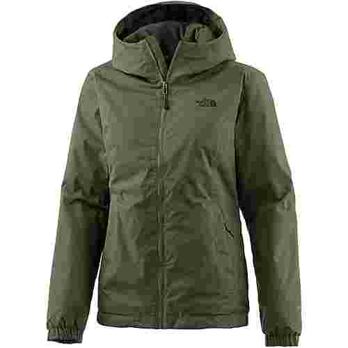 The North Face Quest Insulated Funktionsjacke Damen BURNT OLVE GREEN BLCK HTR