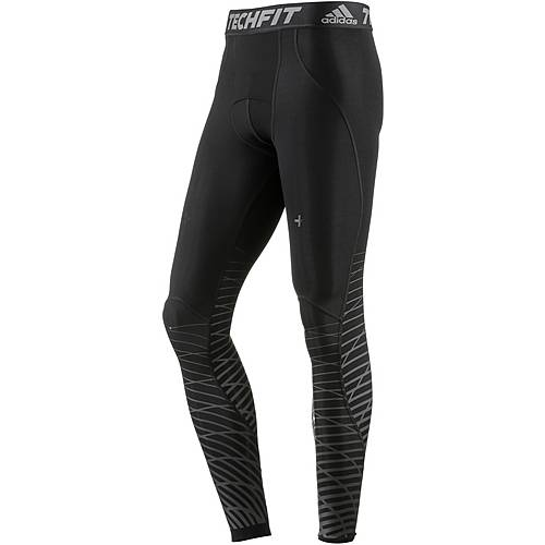 adidas Tech Fit Recover Tights Herren black