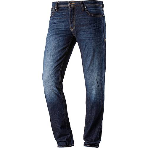 Jack & Jones TIM Slim Fit Jeans Herren blue denim
