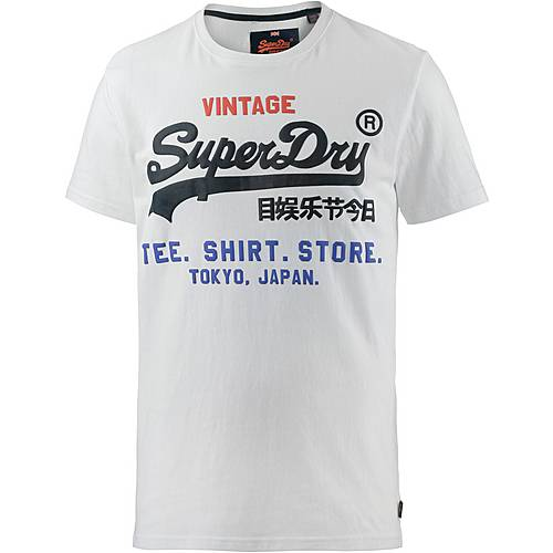 Superdry Printshirt Herren optic