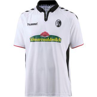 hummel SC Freiburg 17/18 Auswärts Fußballtrikot Herren white/black