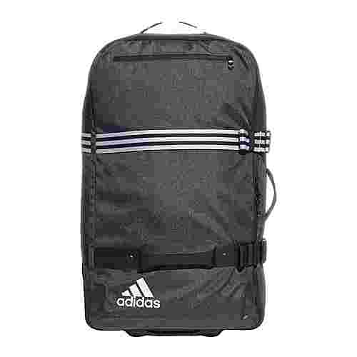 adidas Team Travel Trolley, XL Sporttasche Herren Black-White