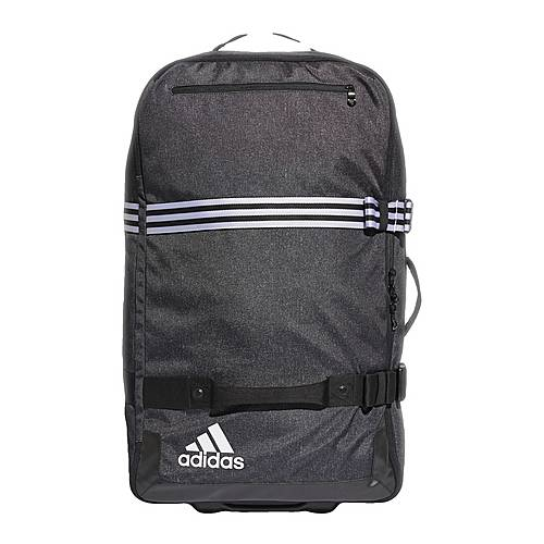 adidas Team Travel Trolley, XL Sporttasche Herren Black-White