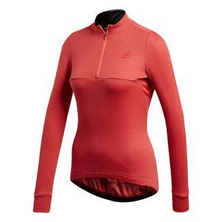 adidas Warmtefront Trikot Langarmshirt Damen Easy Coral