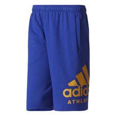 adidas SID Logo Shorts Shorts Herren blue-Mystery Ink -Tactile Yellow