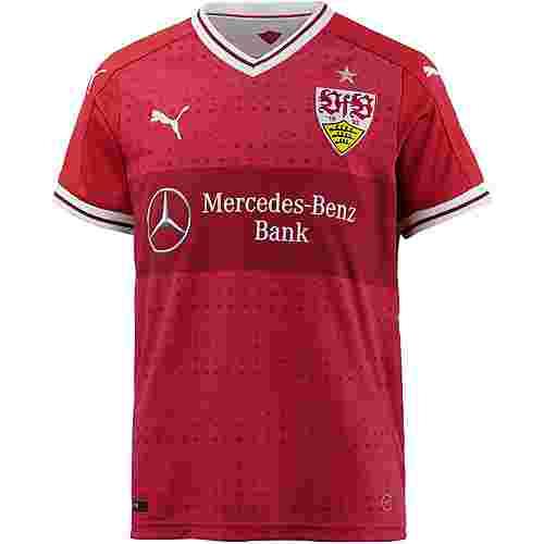 PUMA VfB Stuttgart 17/18 Auswärts Fußballtrikot Kinder Ribbon Red-Ribbon Red
