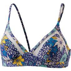 O'NEILL Bikini Oberteil Damen blue aop/yellow