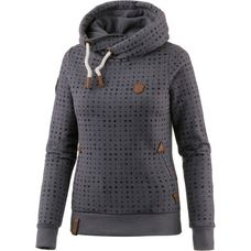 Naketano Long Dong Silver II Hoodie Damen dark grey melange