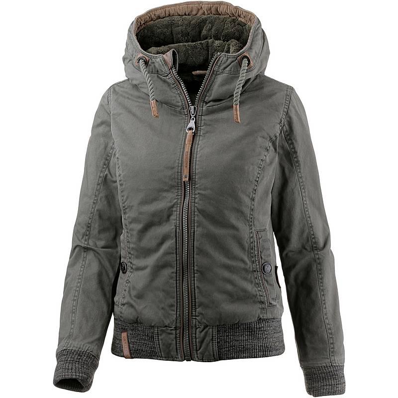 f2804425cad1 Naketano Kapuzenjacke Damen olive im Online Shop von SportScheck kaufen