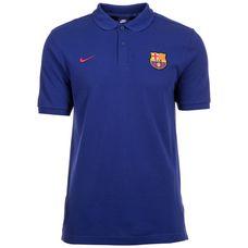 Nike FC Barcelona Crest Poloshirt Herren blau / rot