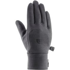 The North Face Etip Fingerhandschuhe Damen dark grey heather