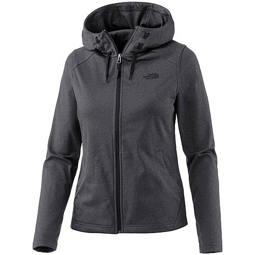 The North Face Tech Mezzaluna Hoodie Damen TNFDARKGREYHTHER/TNFBLACK