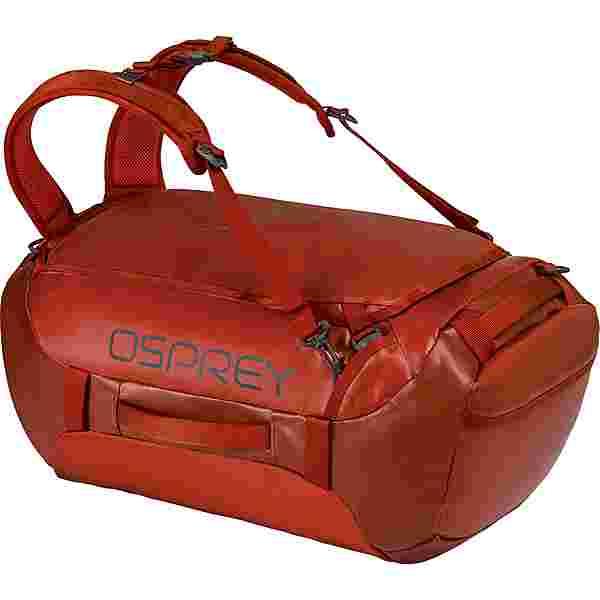 Osprey Transporter 40 Duffle Reisetasche ruffian red