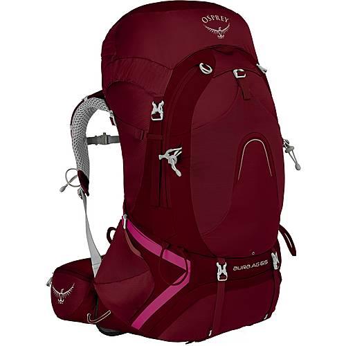Osprey Aura AG 65 Trekkingrucksack Damen gamma red
