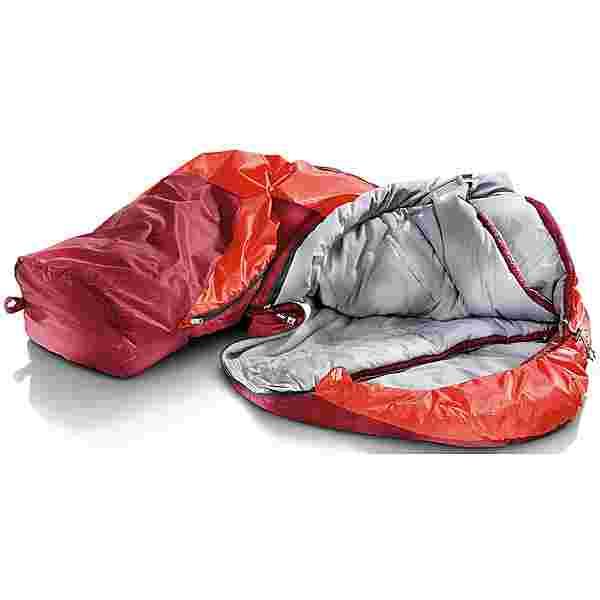 Deuter Orbit -5° SL Kunstfaserschlafsack Damen cranberry-aubergine