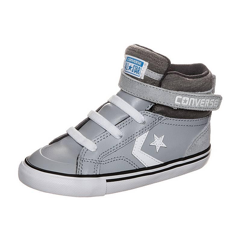 cheaper 01059 ab077 CONVERSEPro Blaze Strap SneakerKinder grau   weiß