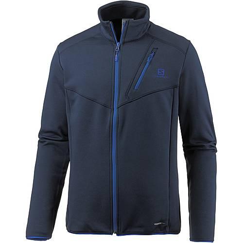 Salomon Discovery Fleecejacke Herren dress blue