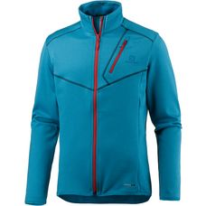Salomon Discovery Fleecejacke Herren hawaiian blue