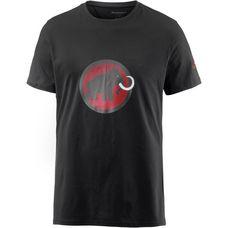 Mammut Logo T-Shirt Herren black