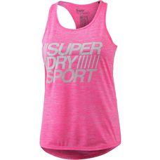 Superdry Tanktop Damen mci-pop pink marl