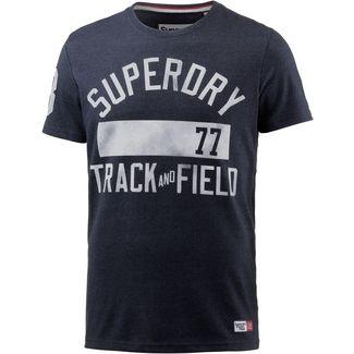 Superdry Printshirt Herren blue black grit