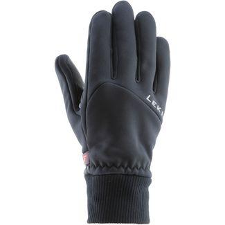 LEKI Hiker Pro Fingerhandschuhe schwarz