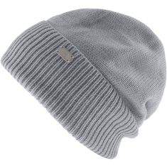 The North Face W BACK 2 BASICS Beanie Damen TNF LIGHT GREY HEATHER