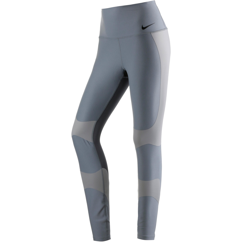 Image of Nike Power Legend Tights Damen XL Normal COOL GREY/COBBLESTONE/DARK GREY