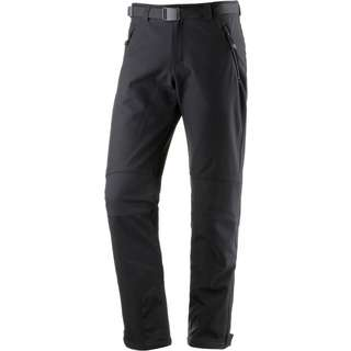 Maier Sports Tech Softshellhose Herren black
