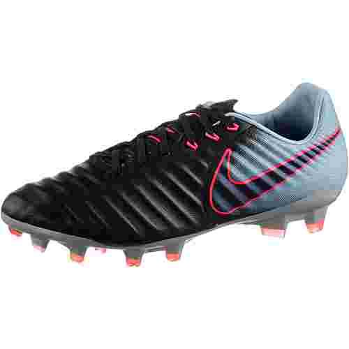 Nike TIEMPO LEGACY III FG Fußballschuhe Herren BLACK/ARMORY NAVY-LT ARMORY BLUE-ARMORY BLUE-HOT PUNCH