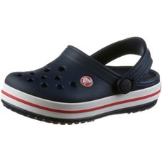 Crocs Pantoletten Kinder navy/red