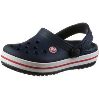 Crocs Crocband Clog Sandalen Kinder navy/red