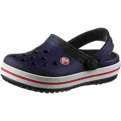 Crocs Crocband Clog Sandalen Kinder navy/red