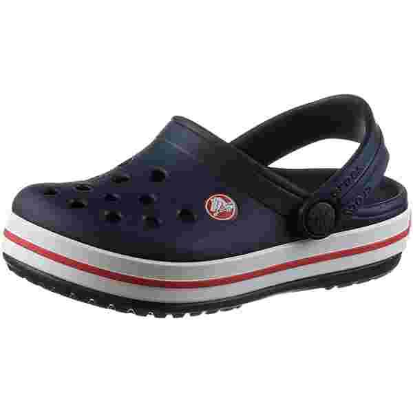 Crocs Crocband Clog Sandalen Kinder navy-red