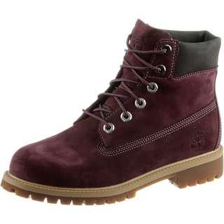 TIMBERLAND 6 Inch Premium Junior Boots Damen bordeaux
