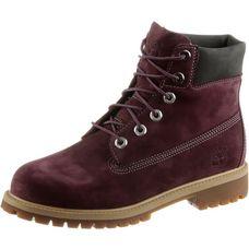 TIMBERLAND 6 Inch Boots Damen bordeaux