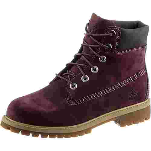 TIMBERLAND 6 Inch Junior Boots Damen bordeaux