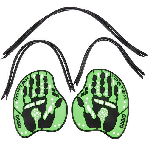 Arena Evo Paddle Schwimmpaddles grün/schwarz