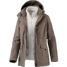 VAUDE Pocatella 3in1 Doppeljacke Damen coconut