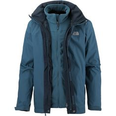 The North Face Evolve II Triclimate Doppeljacke Herren monterey blue