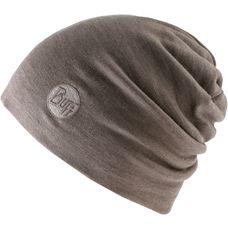 BUFF Merino Wool Thermal Hat Beanie solid walnut brwon