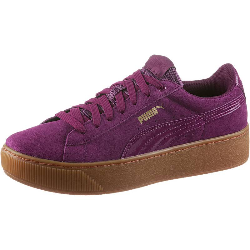 471f4c3c56b PUMA VIKKY PLATFORM Sneaker Damen dark purple im Online Shop von ...