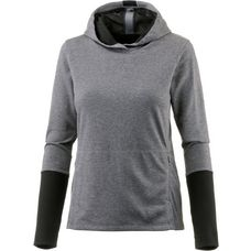 ASICS fuzeX Laufhoodie Damen dark grey heather