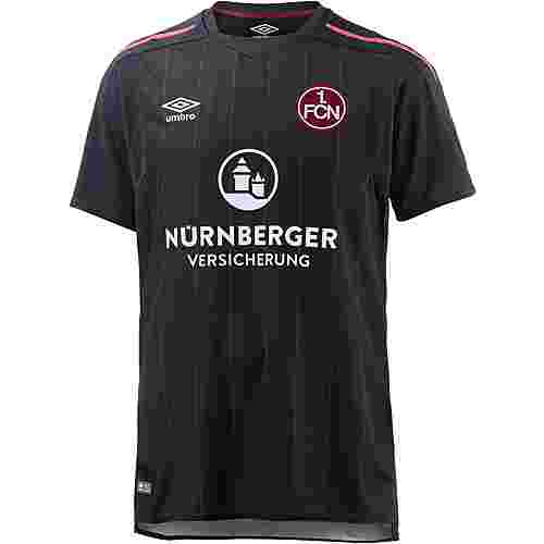 UMBRO 1. FC Nürnberg 17/18 Ausweich Fußballtrikot Herren schwarz